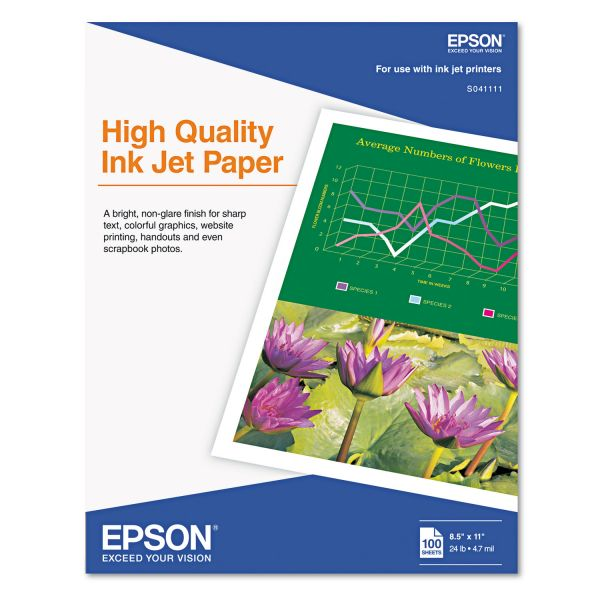 Epson High Quality Inkjet Paper