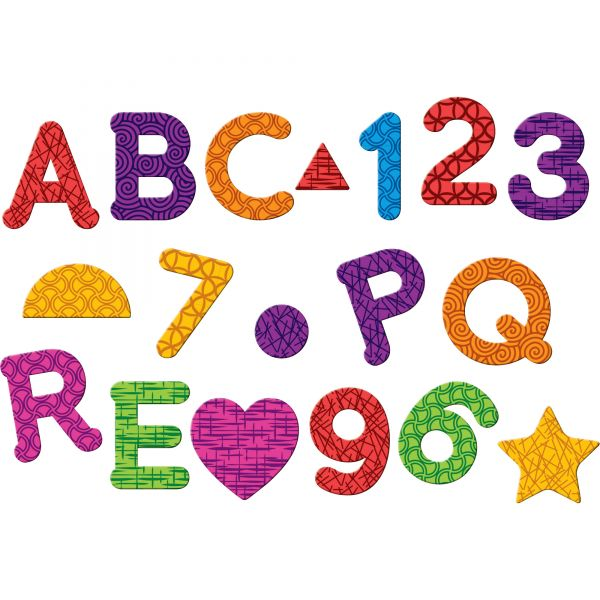 Learning Essentials Magnetic Letters, Numbers & Shapes