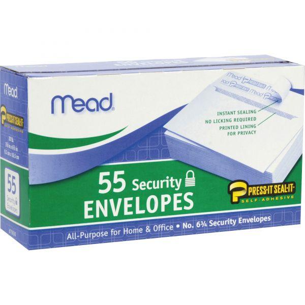 Mead Press-it No. 6 Security Envelopes