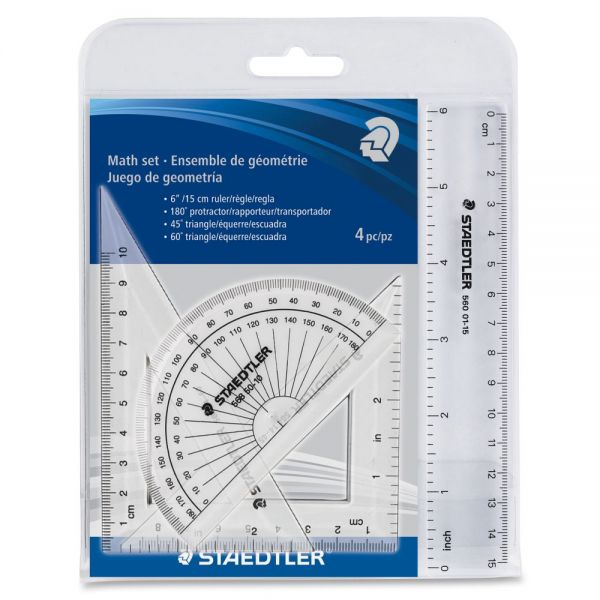 Staedtler 4 Piece Math Set