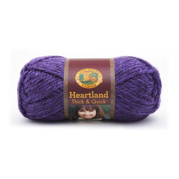 Lion Brand Heartland Thick & Quick Yarn - Hot Springs