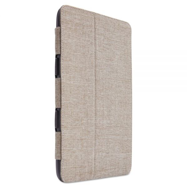 Case Logic SnapView Folio for iPad mini, 5 5/8 x 3/4 x 8 1/8, Beige