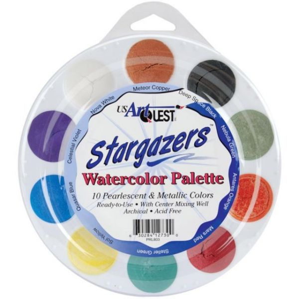 Stargazers Watercolor Palette