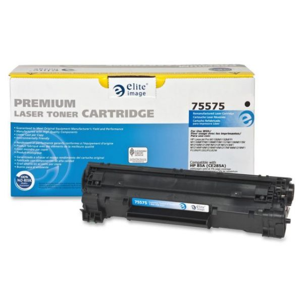 Elite Image Remanufactured HP 85A (CE285A) Toner Cartridge