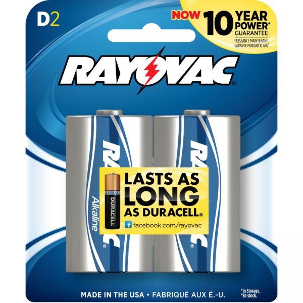 Rayovac D Batteries