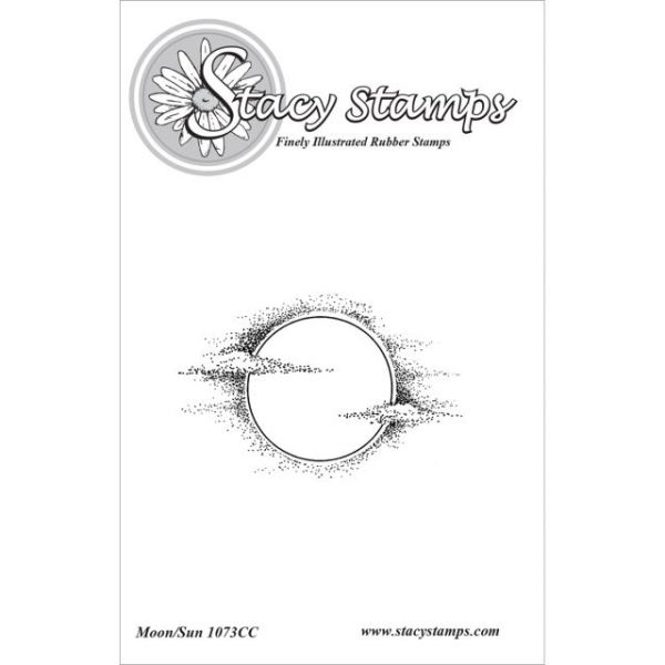 """Stacy Stamps Cling Mounted Stamps 2.5""""X1.5"""""""