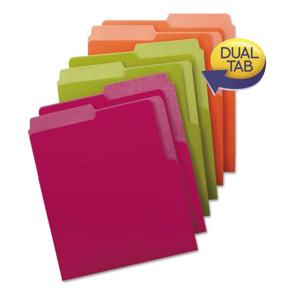 Smead Organized Up Heavyweight Colored Vertical File Folders