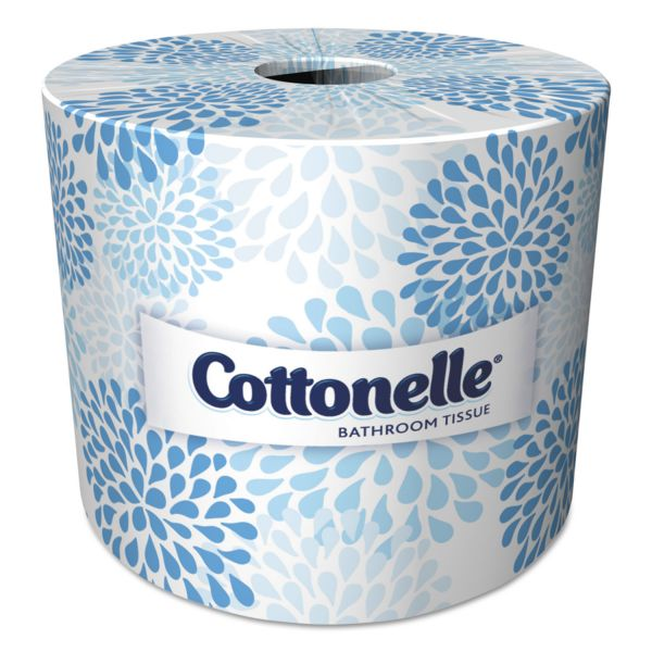 Cottonelle Toilet Paper, 2-Ply, White, 4 x 4 1/10 Sheet, 451 Sheets/Roll, 60 Rolls/Carton