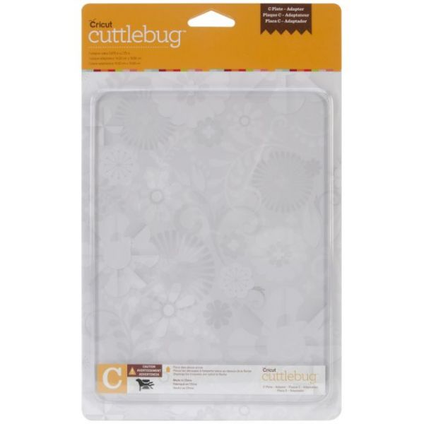 "Cuttlebug Adapter Plate C 5.875""X7.75"""