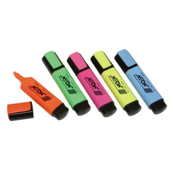 Skilcraft Flat Neon Highlighters
