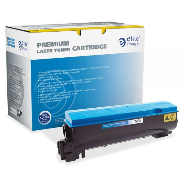 Elite Image Remanufactured Kyocera TK562C Toner Cartridge