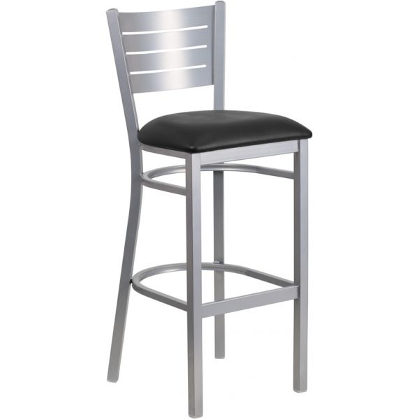 Flash Furniture HERCULES Series Slat Back Barstool