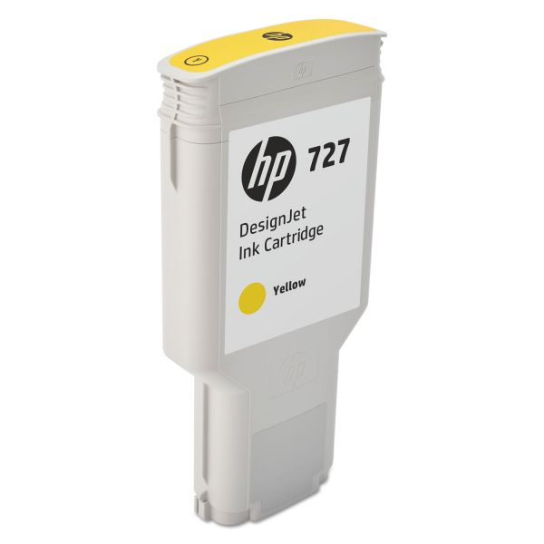 HP 727 Yellow Ink Cartridge (F9J78A)