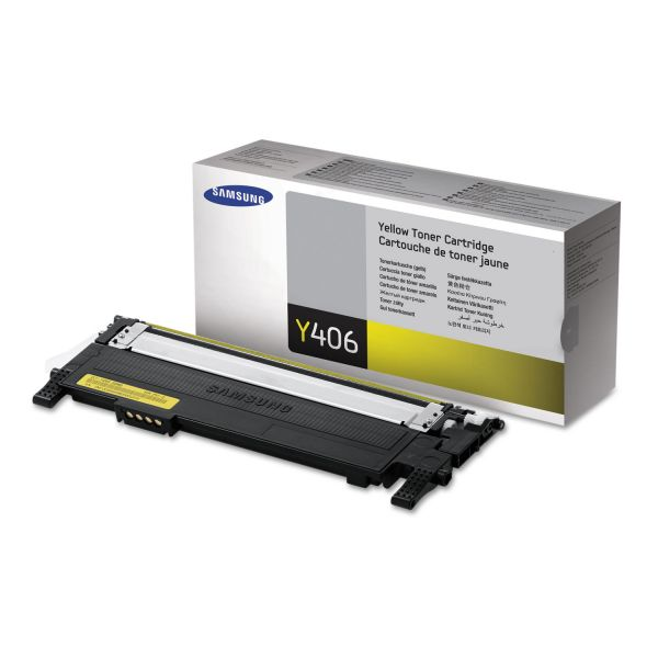 Samsung Y406 Yellow Toner Cartridge (CLTY406S)