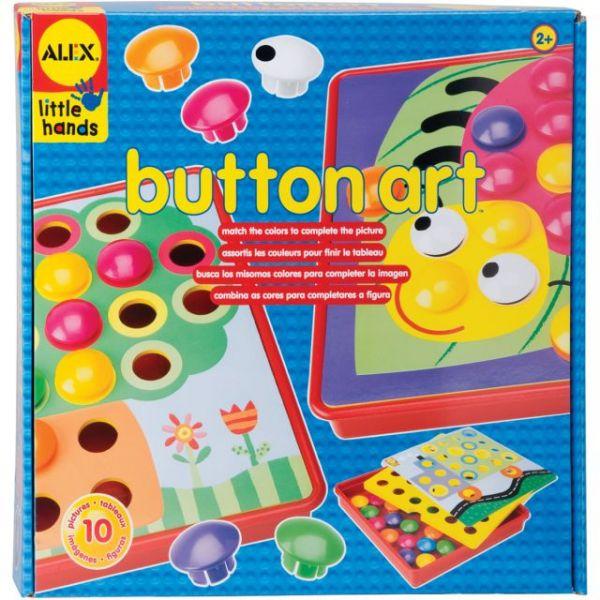 ALEX Toys Little Hands Button Art Kit