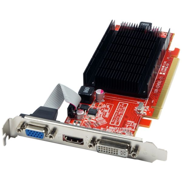 Visiontek Radeon HD 5450 Graphic Card - 1 GB DDR3 SDRAM - PCI Express 2.1 x16