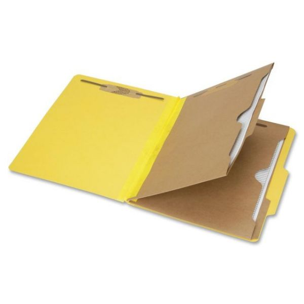 SKILCRAFT 6-Part Letter Size Classification Folders