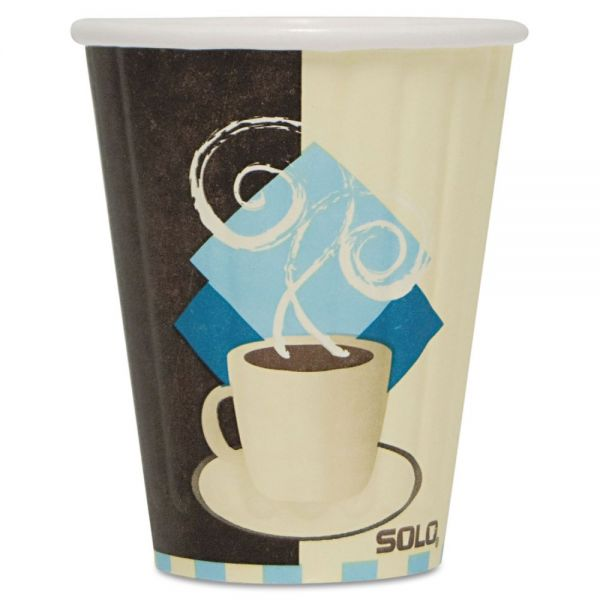 SOLO Duo Shield 8 oz Paper Coffee Cups