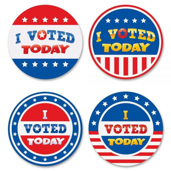 Teacher Created Resources I Voted Today Wear'Em Badges