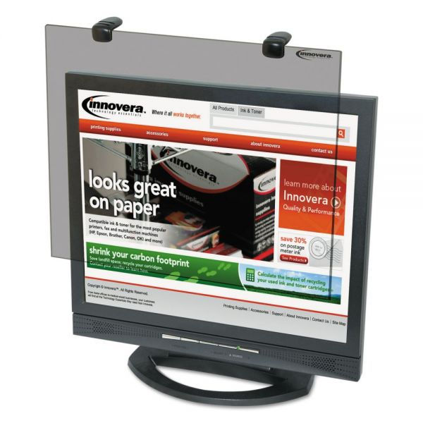 """Innovera Protective Antiglare LCD Monitor Filter, Fits 19"""" LCD Monitors"""