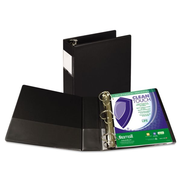 "Samsill Antimicrobial 3"" 3-Ring Binder"