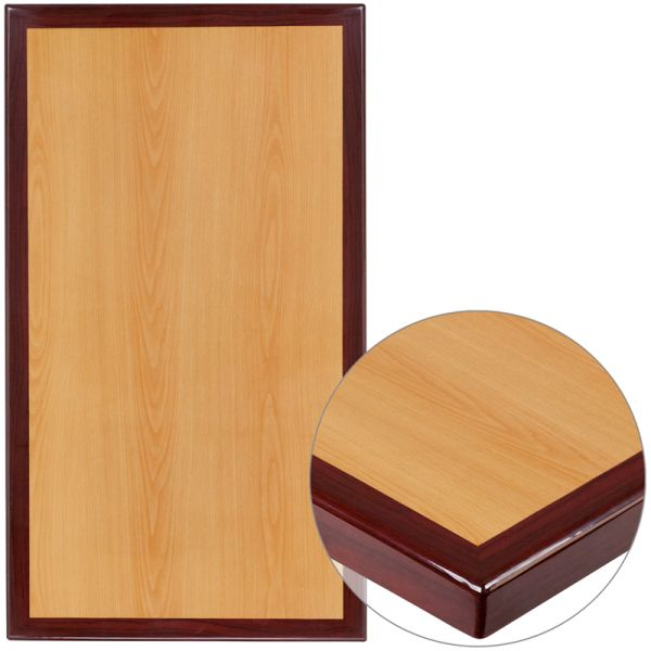Flash Furniture Two-tone Resin Table Top