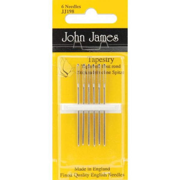 John James Gold Tapestry Hand Needles