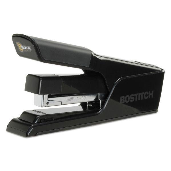Bostitch EZ Squeeze 40 Stapler, 40-Sheet Capacity, Black