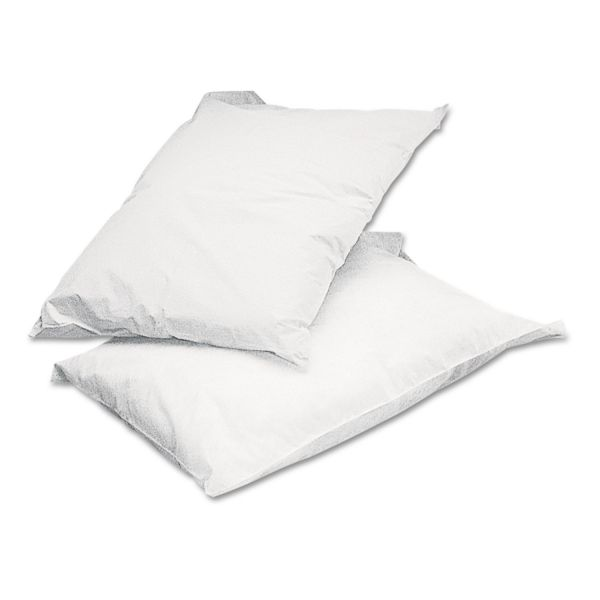 Medline Pillowcases, 21 x 30, White, 100/Carton