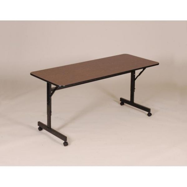 "Correll FT2448M EconoLine Flip Top Table - Melamine Top - 24"" x 48"""