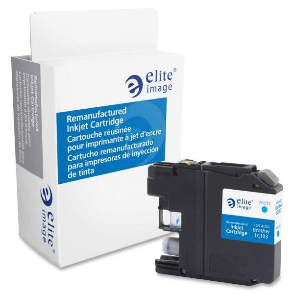Elite Image Remanufactured Brother LC103C Ink Cartridge