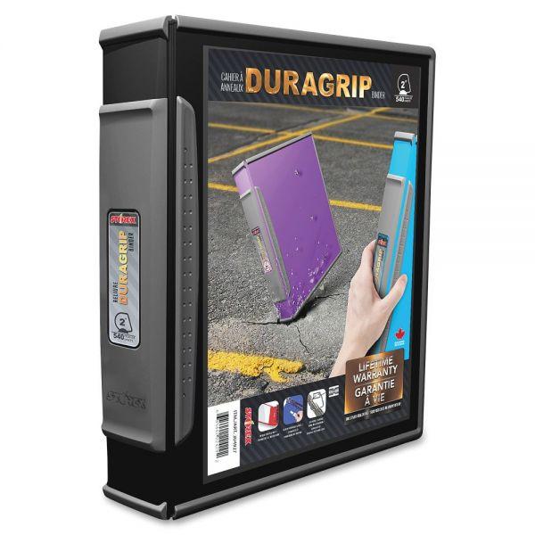 "Storex Dura Grip 2"" 3-Ring View Binder"