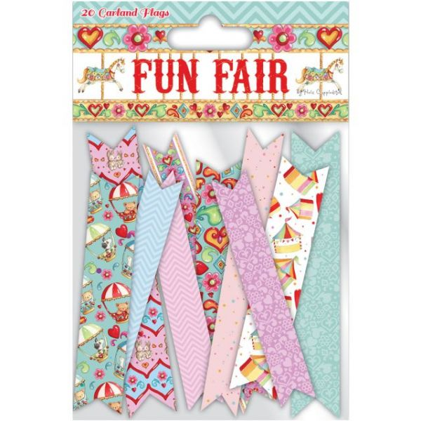 Helz Fun Fair Garland Flags