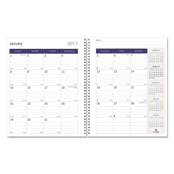 Blueline DuraGlobe Monthly Planner