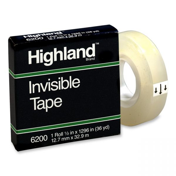 Highland Invisible Tape Refill