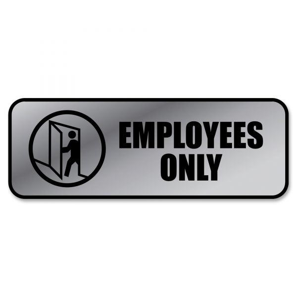 "COSCO ""Employees Only"" Sign"