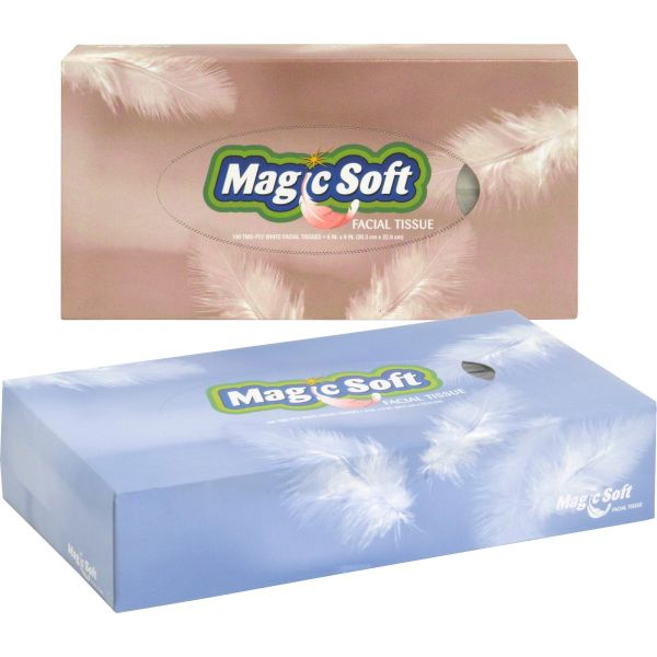 Magic Soft 2-Ply Facial Tissues