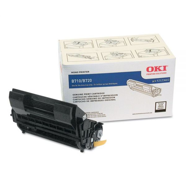 Oki 52123602 High-Yield Toner, 20,000 Page Yield, Black