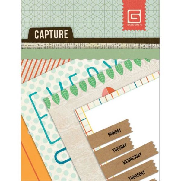 "Capture Mini Snippets Single-Sided Cardstock Cards 3""X4"""