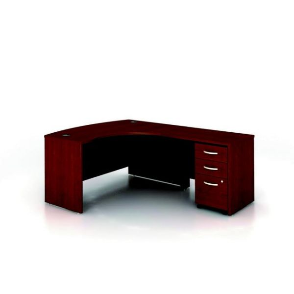 bbf Series C Professional Configuration - Mahogany finish by Bush Furniture