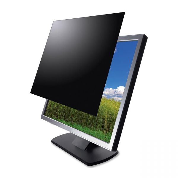 Kantek LCD Monitor Blackout Privacy Screens Black
