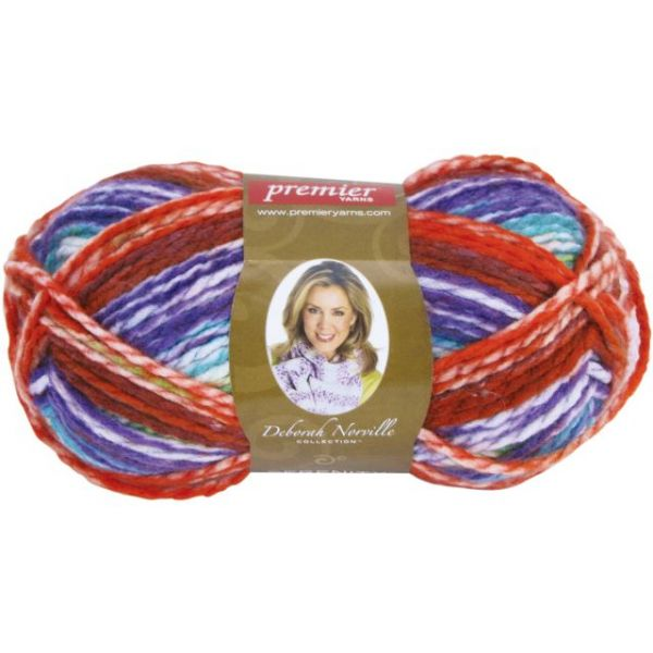 Deborah Norville Collection Serenity Chunky Yarn - Crayon Box