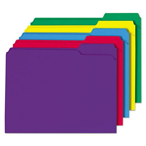 Universal Colored File Folders