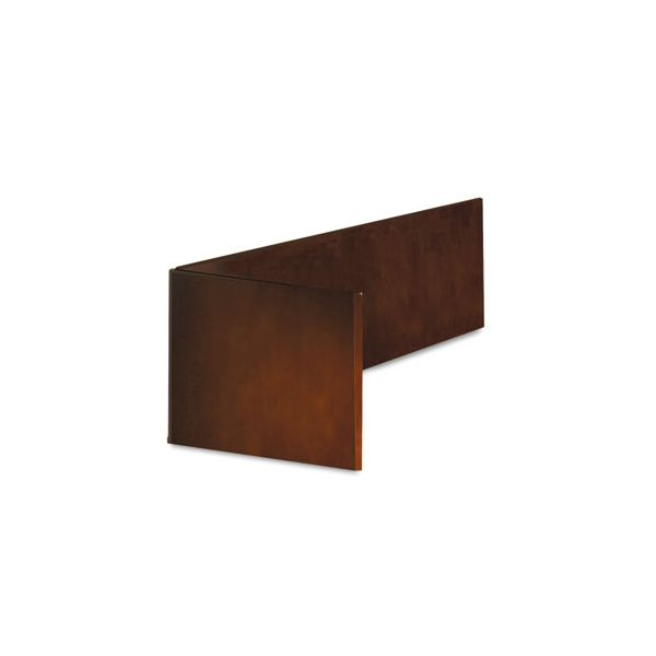 Tiffany Industries Sorrento Series Return Reception Screen, 48w x 19-1/2d x 14h, Bourbon Cherry