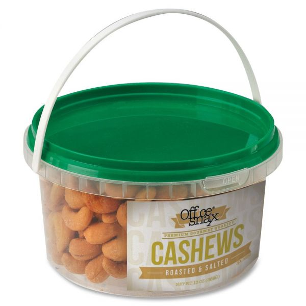 Office Snax Roasted & Salted Cashews