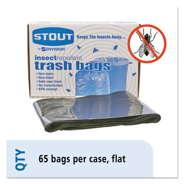 Stout Insect-Repellent 45 Gallon Trash Bags