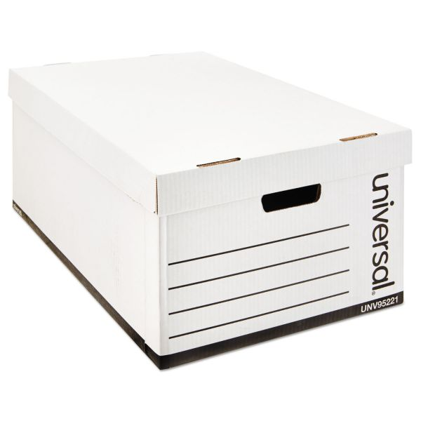 Universal One Heavy-Duty Storage Boxes With Lift-Off Lids