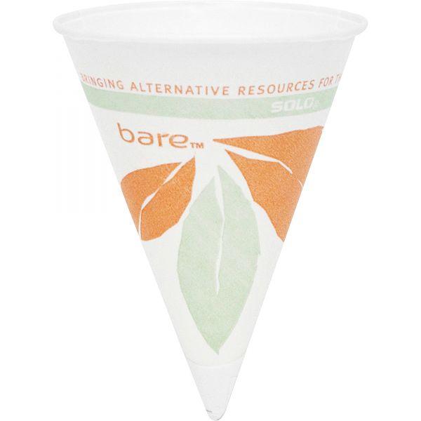 SOLO 4 oz Paper Cone Cups