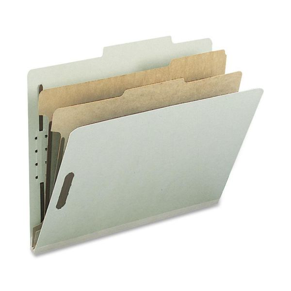 Nature Saver 2-Divider Pressboard Classification Folders