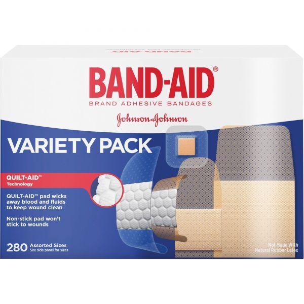 Band-Aid Variety Pack Adhesive Bandages